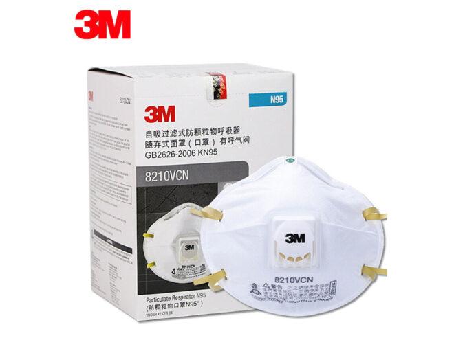3M 8210V N95 FFP2 Maske