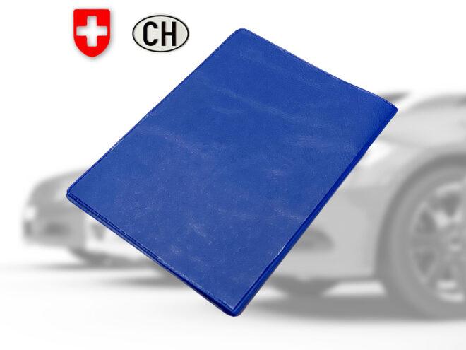 Fahrzeugausweis Hülle blau
