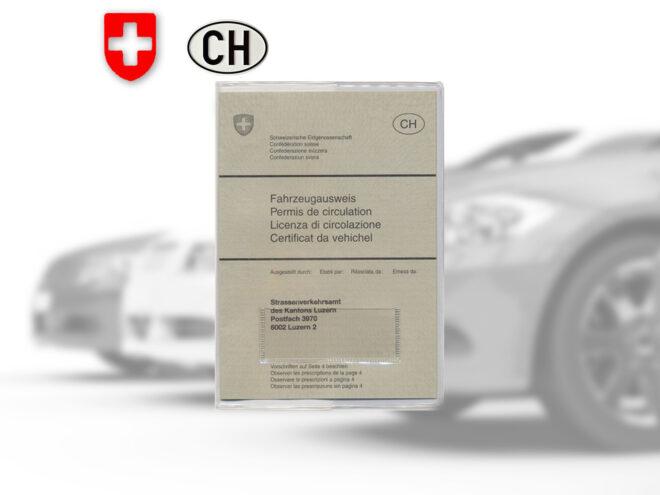 Fahrzeugausweis Hülle transparent