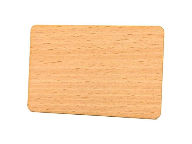Holzkarten Birke ohne Laminat
