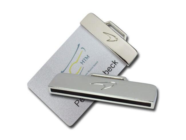 Kartenhalter Metall mit Bügel