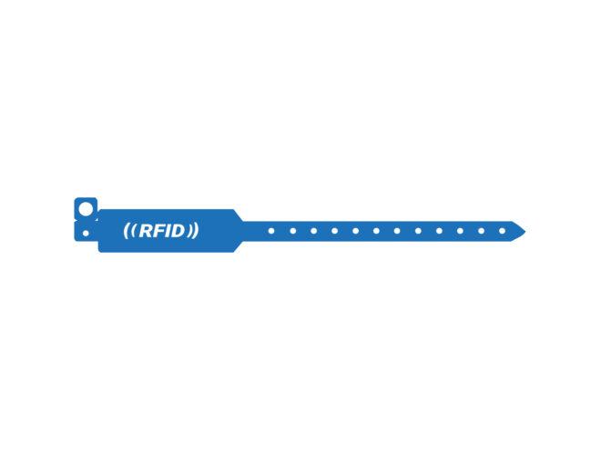 RFID PVC Einweg-Armband Balu