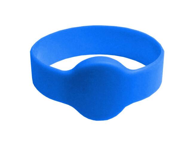 RFID/NFC Silikon-Armband Typ 2 Blau