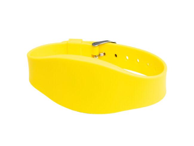 RFID/NFC Silikon-Armband Typ 13 Gelb
