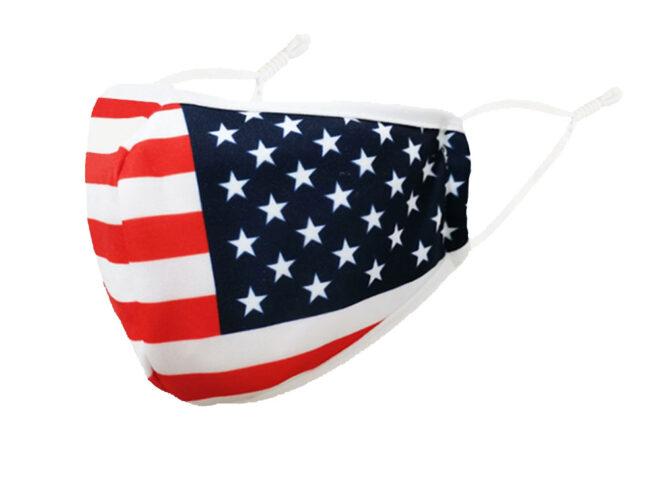 Stoffmaske Ländermasken USA
