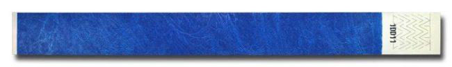 Tyvek-Kontrollarmband (Papierarmband) mit Klebeverschluss 25mm blau-0