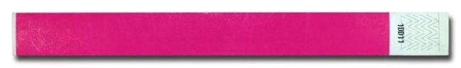 Tyvek-Kontrollarmband (Papierarmband) mit Klebeverschluss 19mm pink-0