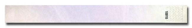 Tyvek-Kontrollarmband (Papierarmband) mit Klebeverschluss 19mm weiss-0