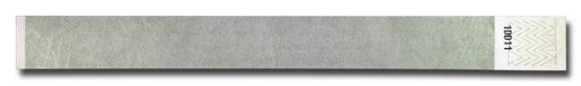 Tyvek-Kontrollarmband (Papierarmband) mit Klebeverschluss 25mm Silber-0