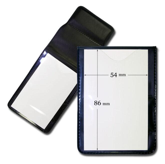 Ausweishülle AWH23 mit Magnet 54x86mm-0