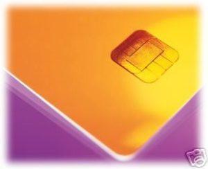 Chipkarte SLE 4428-0