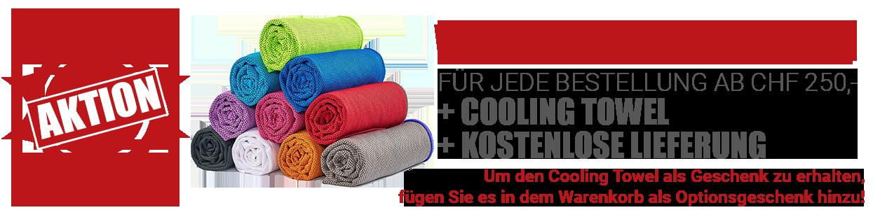 Cooling Towel als Geschenk