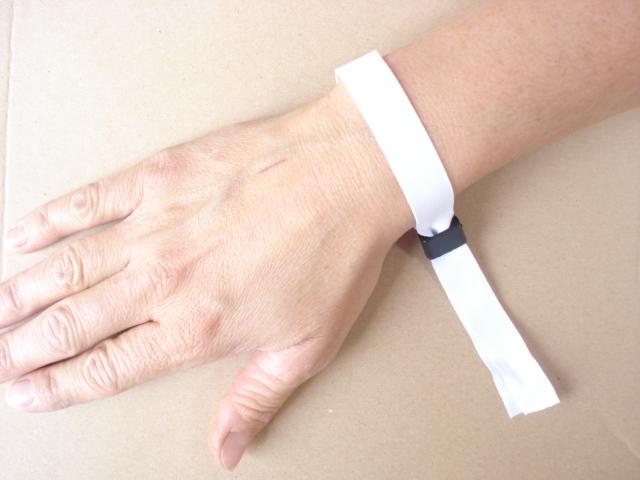 Einlass- & Kontrollband aus Stoff -248