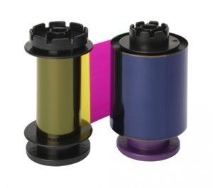 Evolis Avansia YMCFK Color Ribbon RT5F014EAA-0