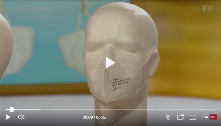 FFP2 Masken Video