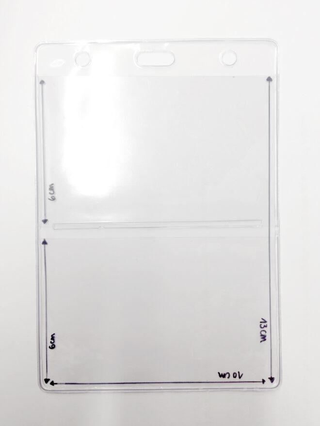Ausweishülle AWH24 mit 3 Fächern 2*60x100mm und 1*100x130mm-0