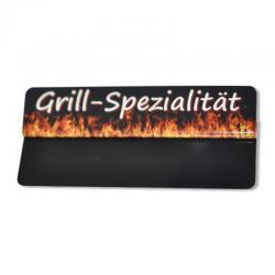 """Preisschildreiter """"Grill-Spezialität"""" (10Stk) -0"""