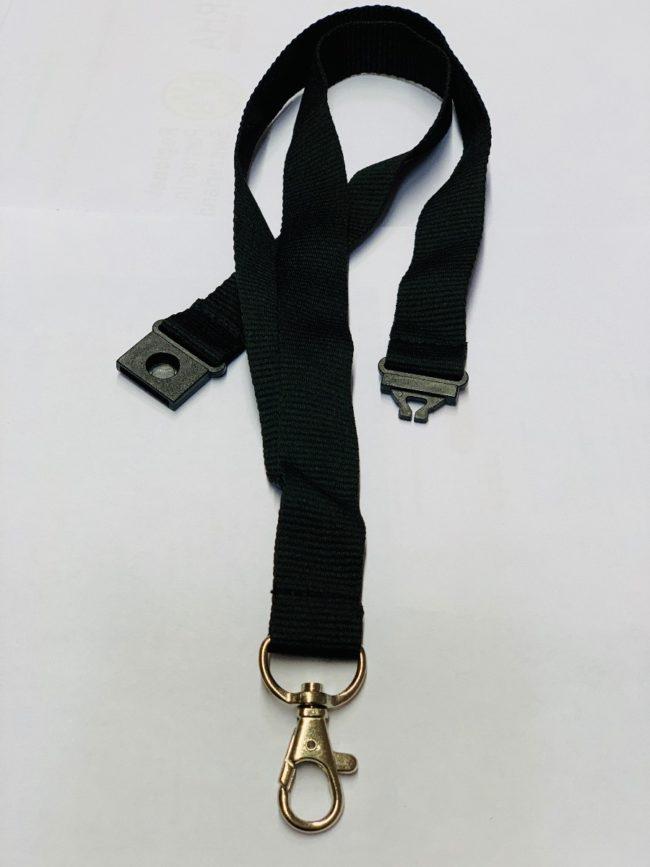 Umhängeband / Lanyard 20mm unbedruckt Safetyclip-0