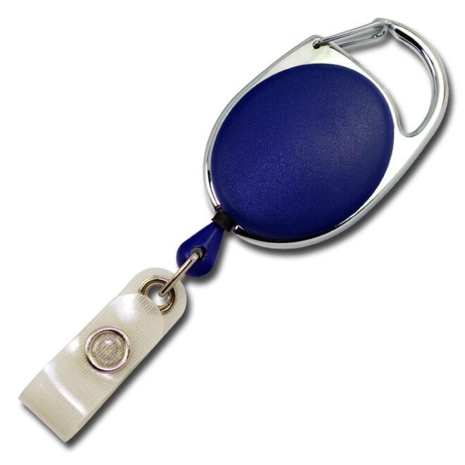 Ovale Jojos vollfarbig mit Bügel in blau-0