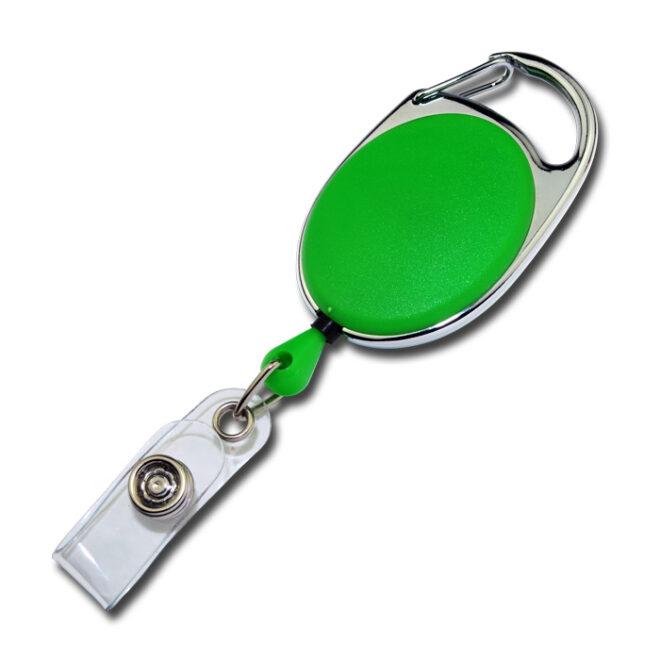 Ovale Jojos vollfarbig mit Bügel in grün-0