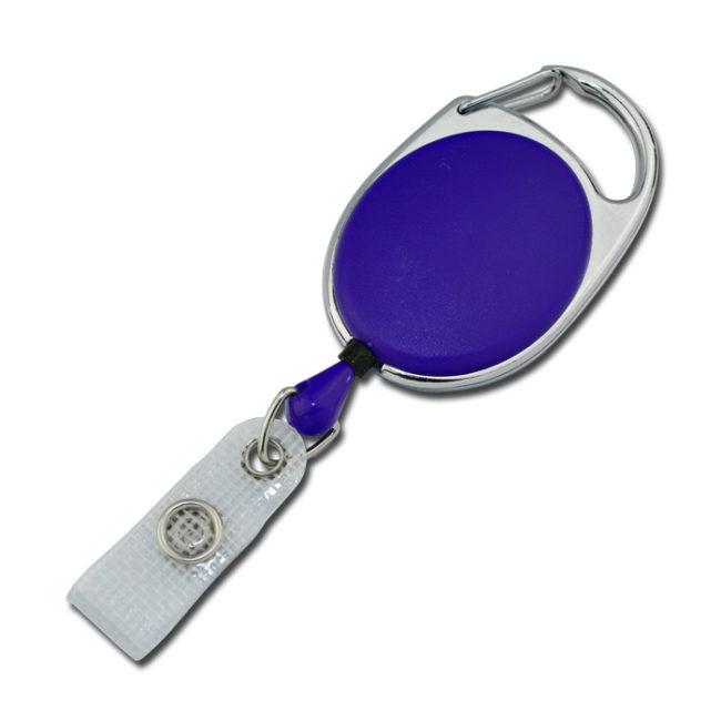 Ovale Jojos vollfarbig mit Bügel in lila-0