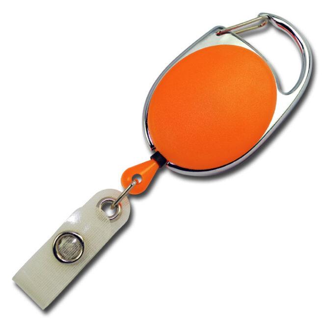 Ovale Jojos vollfarbig mit Bügel in orange-0