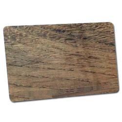 Kartenrohlinge PVC Holzoptik-0