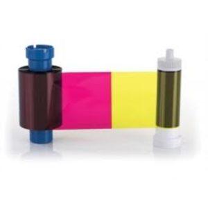 YMCKOK Farbband für Authentys 250 Drucke-0
