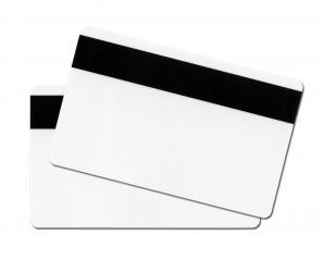 Plastikkarten mit LoCo Magnetstreifen mit Schutzfolie 200er Pack-0