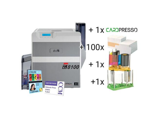 XID 8100 Re-Transfer-Kartendrucker