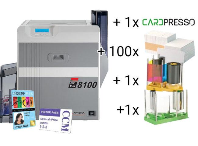 XID 8100 Re-Transfer-Kartendrucker-0