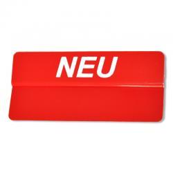"""Preisschildreiter """"Neu"""" (10Stk) -0"""