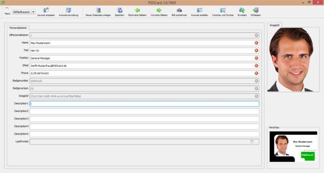 PSD Card Software OEM-449