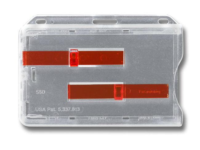 Kartenhalter S5 mit 2 Schiebern-0