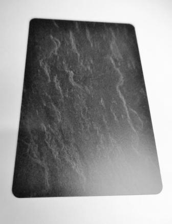 Kartenrohlinge Schwarz Schieferoptik-0