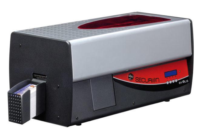 Evolis Securion, beidseitig, USB, Ethernet-0