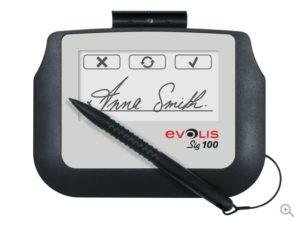 Evolis Sig 100 Signature Pad-0