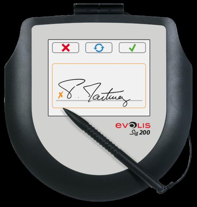 Evolis Sig 200 Signature Pad-21837