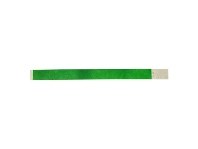 Tyvek-Kontrollarmband Grün