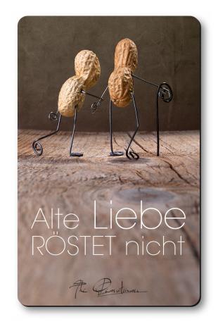"""Magnethaftkarten - Motiv """"Alte Liebe""""-0"""