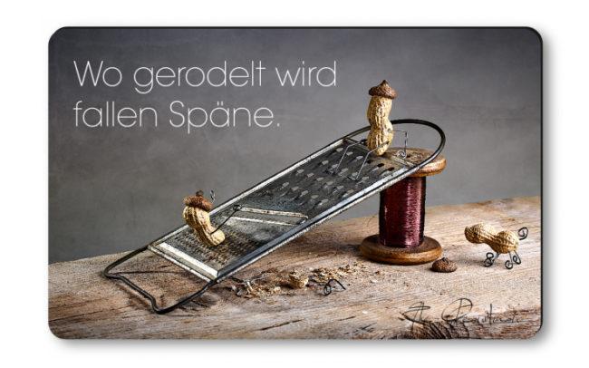 """Magnethaftkarten - Motiv """"Rodelspaß""""-0"""