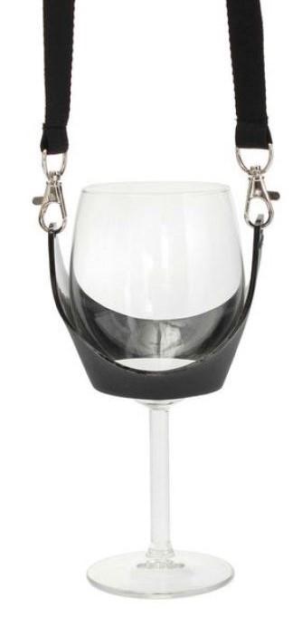Umhängeband / Lanyard - mit Glashalter-0
